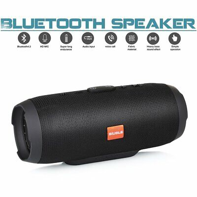20W New Charge 3+ Waterproof Bluetooth Speaker Portable Wireless Bass Stereo MP3