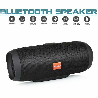 40W New Charge 3+ Waterproof Bluetooth Speaker Portable Wireless Bass Stereo MP3