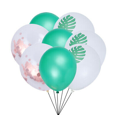 15pcs Balloons Set Hawaii Theme Latex Supplies Party Favors for Banquet