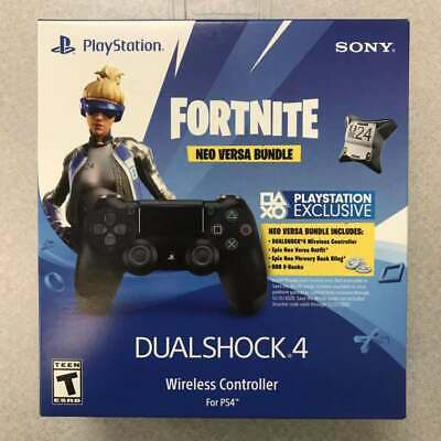 PS4 Dualshock 4 Controller PlayStation 4 - Fortnite Neo Versa (No Code Included)