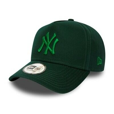 New York Yankees Essential Green A Frame 9FORTY New Era Cap | New w/Tags