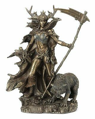 Hel Statue Goddess of the Norse Underworld Mythology Sculpture Figure *WELL MADE