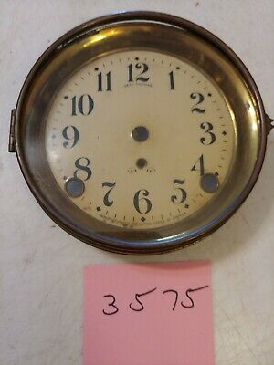Antique Seth Thomas  Mantle Clock Dial & Bezel & Glass From 89 C Movement