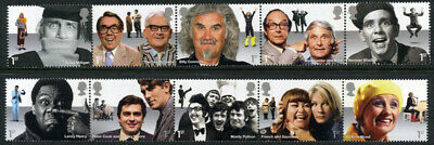 Gb 2015 Comedy Greats Set Of 10 Unmounted Mint Sg 3697 - 3706
