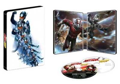 Ant-Man and the Wasp - Steelbook 4K UHD Bluray w/ Protective Sleeve