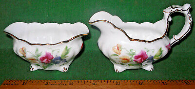LADY PATRICIA BY Hammersley, Bone China Sugar & Creamer Set