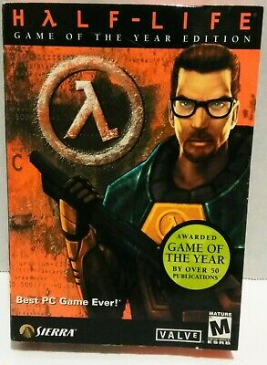 HALF-LIFE: GAME OF the Year Edition (PC, 1999) & CD Key