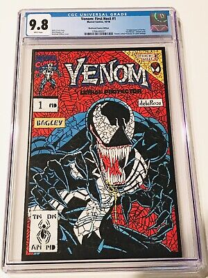 Venom First Host #1 CGC 9.8 Matthew DiMasi Shattered Comics Variant Cover MOVIE