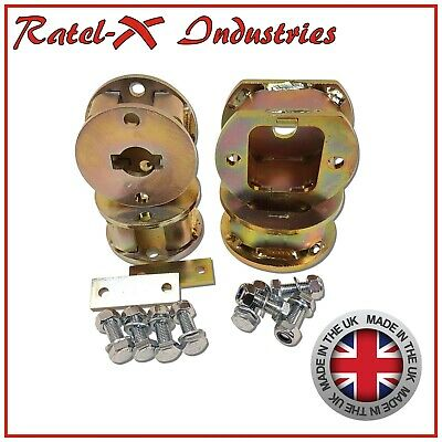 """Land Rover Discovery 2 50mm 2"""" inch lift Blocks Spacer Kit Front Spring+Rear Air"""