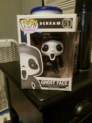 Funko POP! Moves Scream Ghost Face 51 - Vaulted Authentic