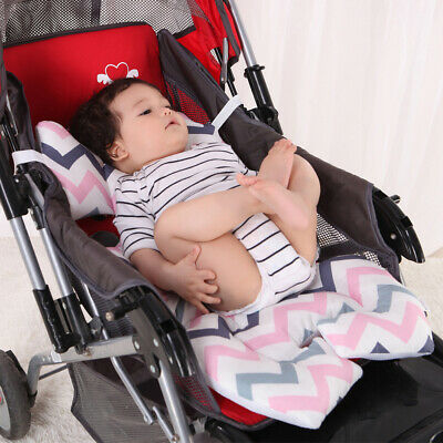 Newborn Kids Infant Car Seat Stroller Cushion Pad Liner Mat Head Body Support