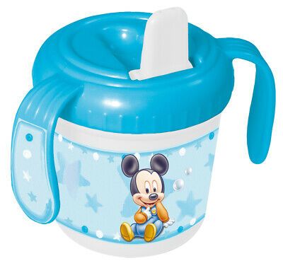 Baby Mickey Training Mug for Baby / Sippy Cup / Sipper Cup