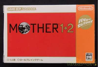 Nintendo Mother 1 2 Game Boy Advance Software