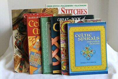 7 Books on Celtic Design for Needlepoint and Other Crafts.