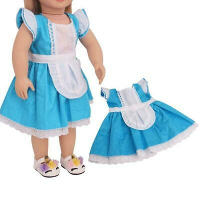 """Fits 18"""" inch Doll Girls Doll Handmade fashion Doll Clothes Outfit dress L9N8"""