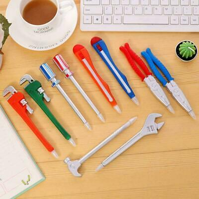 Ballpoint Pens School Office Supplies Hardware Tools Wrench Hammer Creative T7L5