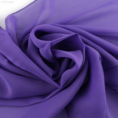 3343 Purple Shawl Scarf Women Chiffon Stylish Light