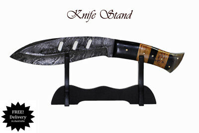 Knife Stand Display Single Collectables Fits most knifes AUS FAST SHIPPING !!
