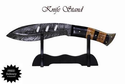 Single Knife Stand Display Collectables Fits most knifes AUS FAST SHIPPING !!