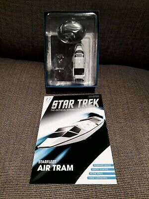 Eaglemoss Star Trek Starship Collection Starfleet Air Tram - Shuttle #17 Set 5