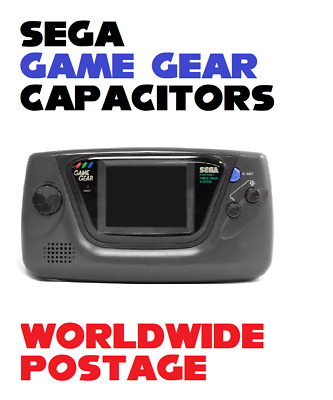 Sega Game Gear Replacement Capacitors / Complete 20 x Cap Kit / Repair Kit