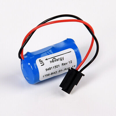 1200mAh 3.0V PLC Lithium Battery For 1756-BA2 BR2/3A-AB HHT Series