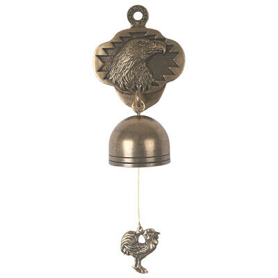 Vintage Antique Style Shopkeepers Door Bell Store Entry Door Chime (Eagle)