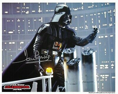 Star Wars Official Pix Dave Prowse Signed Celebration Japan 8 x 10 Photo