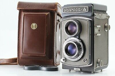 【N/Mint】 YASHICA A TLR Film Camera with 80mm f/3.5 Lens From Japan 726