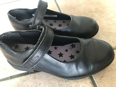 Girls Clarks Leather Shoes 13.5 F