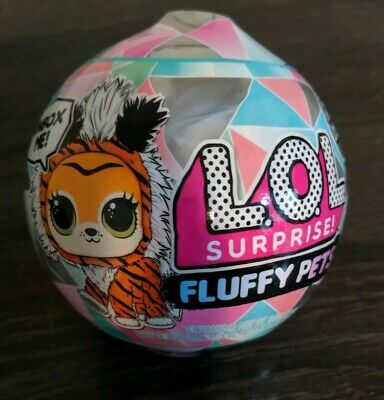 *In Hand* LOL Surprise Winter Disco Series FLUFFY PETS Sealed Unopened Ball
