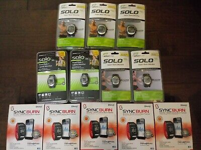 Lot of Twelve (12) SportLine Heart Rate Monitors/Calorie Counters, NEW