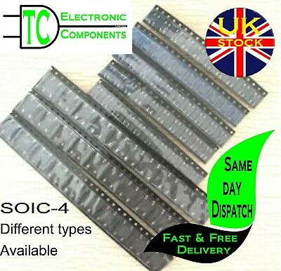 SMD Bridge Rectifiers SOIC-4 Different types available (5 Pack) **UK SELLER**