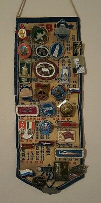 Soviet RUSSIA USSR Lapel Hat Pin Badge Airline MOCKBA Collection Vintage Lot