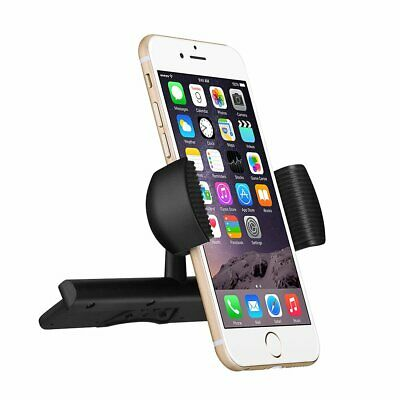 Mpow CD Slot Car Mount Phone Holder W/ Spring Holder for iPhone iPod Samsung GPS
