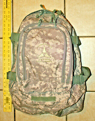 Us Military Army Acu Ucp Molle Ii Patrol Assault Pack 3-Day Mission Backpack Vgc