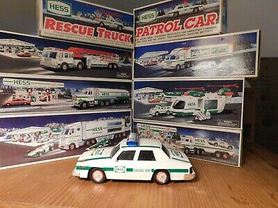 8X Hess Toy Trucks, Fire, Rescue, Racers, Helicopter, Motorcycle, Cruiser, + !!