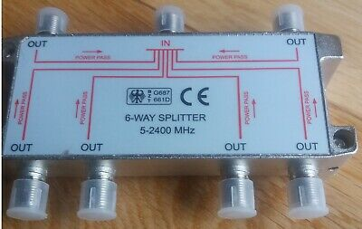 Bzt 6-Way Splitter