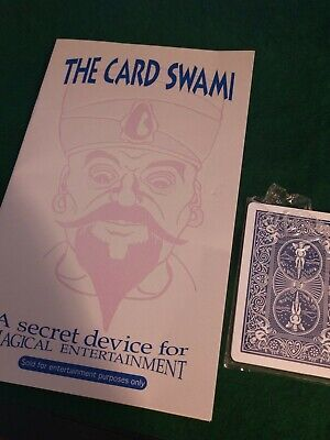 The Card Swami A SECRET DEVICE Advance Card Gimmick