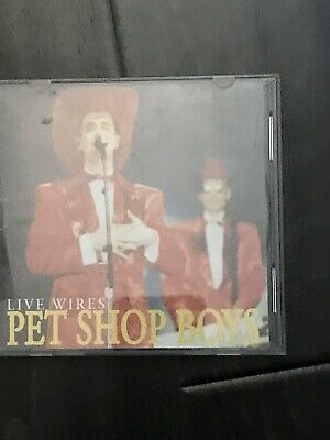 Pet Shop Boys Live Wires CD 1991 Wembley Arena Made in Italy PRE-OWNED