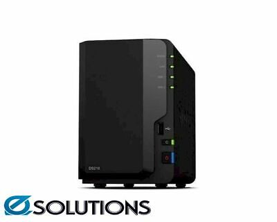 "Synology DiskStation DS218 2-Bay 3.5"" Diskless 1xGbE NAS"