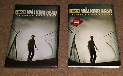 The Walking Dead DVD Complete Season 4/Fourth/4th NEW/SEALED Box Set 5 Disc AMC