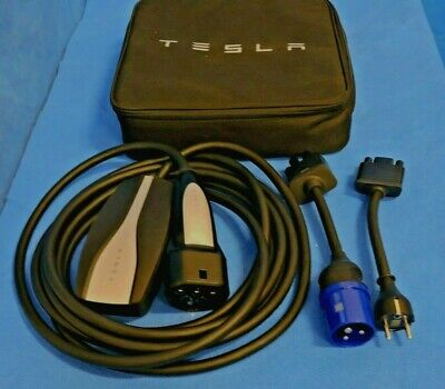Tesla Universal Mobile Connector UMC Charging Cable Set/ for EUROPEAN Not US Car