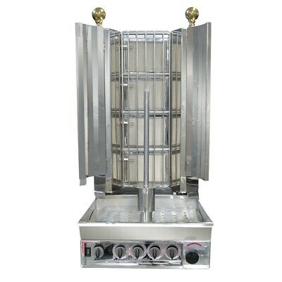 Commercial Veysel Kebab yiros Machine Natural Gas 4 burners