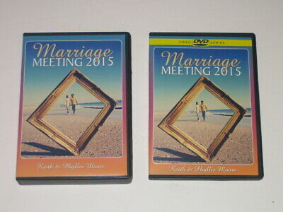 Marriage Meeting 2015 Keith & Phyllis Moore DVDs & CD's Sets