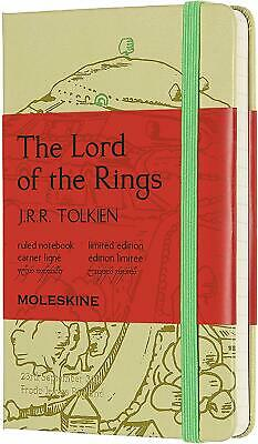 Moleskine Limited Ed Notebook Lord of the Rings - Hobbit (Shire Variant, New)