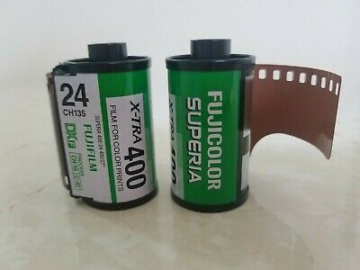 2 Rolls Fujicolor Negative 35mm Print Film ISO400 24exp