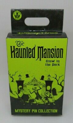 Haunted Mansion 50th Glow in the Dark Limited Release Mystery Box Pin NEW SEALED
