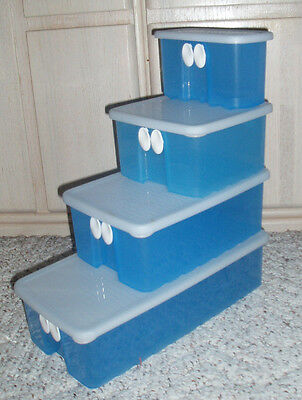 TUPPERWARE Fridgesmart Vented Containers Sold Individually~Size Choice~Blue
