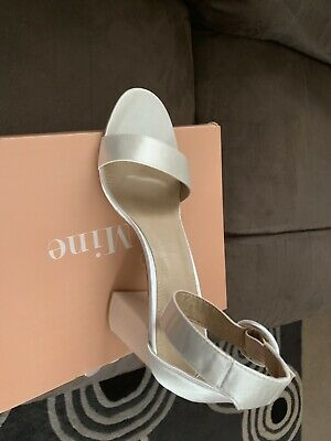Ivory wedding shoes BNWT